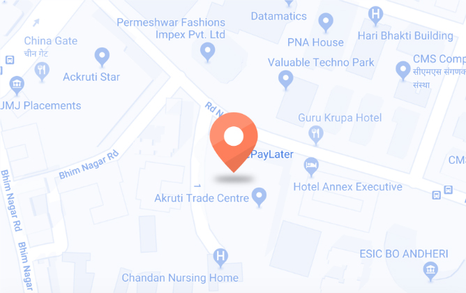 ePayLater Mumbai location